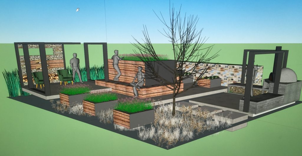 Garden designer by Michael John McGarr
