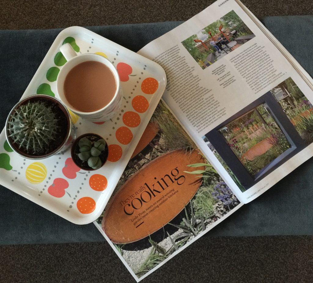 Garden designer Warnes McGarr Lancs Life coverage