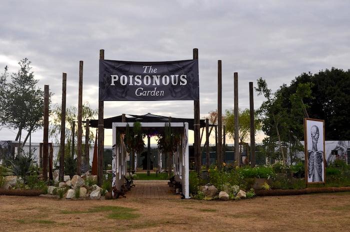 RHS Tatton Cheshire - Poisonous Garden Warnes McGarr & Co