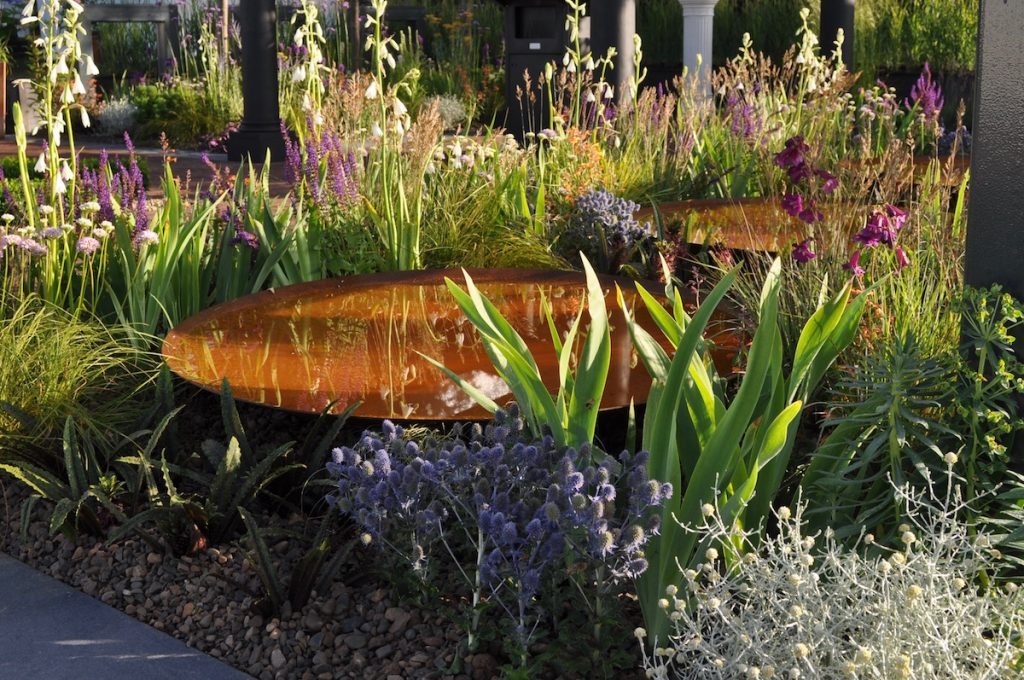 Warnes McGarr & co award winning garden design