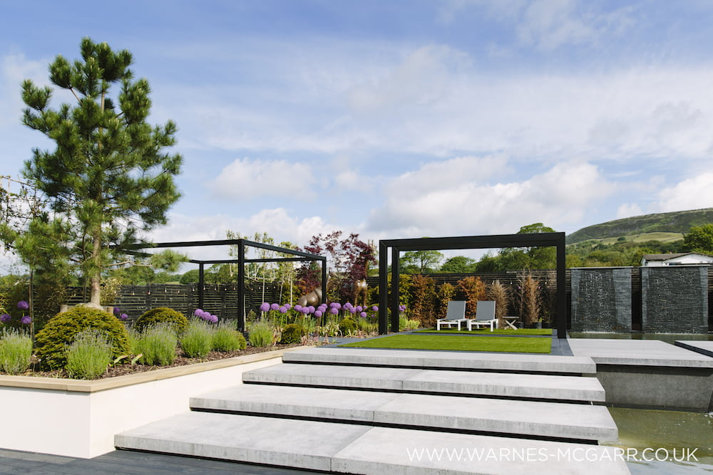 low maintenance garden design Michael John McGarr